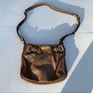 Brahmin leather crossbody handbag